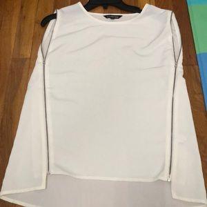 Express side  zipper blouse